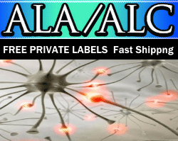 Private Label ALA/ALC Supplements Distributor | Private Label Vitamins Supplement Supplier