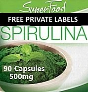 Wholesale Private Label Spirulina Supplement