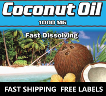 Wholesale Private Label Coconut Oil Supplement Distributor Supplier | Wholesale Vitamins