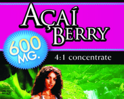 Private Label Acai Berry Weight Loss Supplement