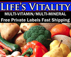 Life's Vitality Wholesaler Reseller of Vitamin Supplements