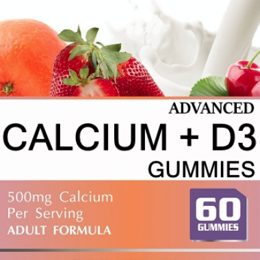 Private Label Calcium + Vitamin D3 Gummy Supplement Distributor