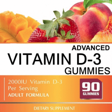 Private Label Vitamin D3 Gummy Supplement Wholesale Gummies Supplement Distributor