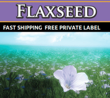 Wholesale Flaxseed Oil Private Label Supplement Distributor Supplier