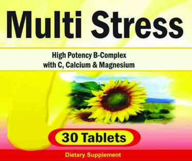 Private Label Multi-Stress Vitamin Formula | Private Label Vitamin Distributors