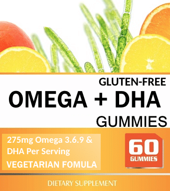Private Label Gummies Omega 3-6-9 and DHA Wholesale Supplement Distributor