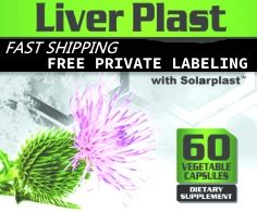 Private Label LiverPlast Wholesale Liver Detoxifier Distributor