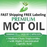 Private Label MCT Oil Supplement Supplier Distributor