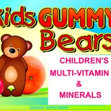 Private Label Kids Multi-Vitamin Minerals Wholesale Supplements Distributor