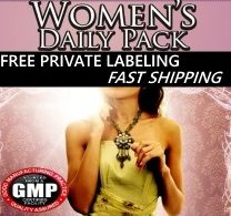 Private Label Women's Daily Pack Supplements Distributor