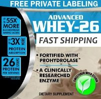 Private Label Whey Protein Powder Wholesale Supplier