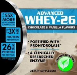 WHEY-26 Private Label Whey Protein Supplement Distributor