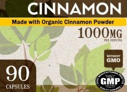 Private Label Organic Cinnamon Wholesale Dietary Supplement