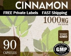 Wholesale Private Label Organic Cinnamon Private Label Supplement Distributor