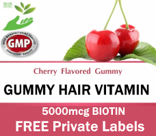 Private Label Gummy Hair Vitamin Wholesale Supplement Distributor