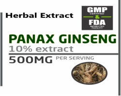 Panax Ginseng HOT New Private Label Supplement Products