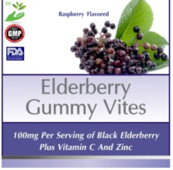 Private Label Elderberry Gummy Vitamin Supplement Distributor