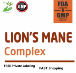 Private Label LION'S MANE Supplement Distributor