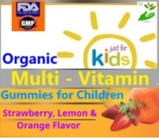 Wholesale Distributor Private Label Organic Gummy Multi-Vitamin for Kid's
