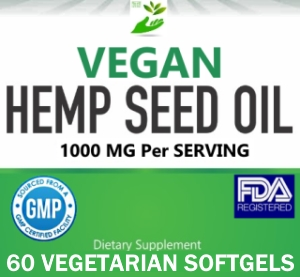 Private Label Vegan Hemp Seed Oil Supplement Supplier Distributor
