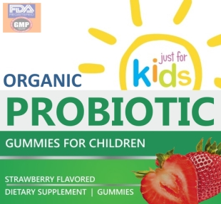 Private Label Children's Organic Probiotic Gummy White Label Wholesale Supplement Supplier