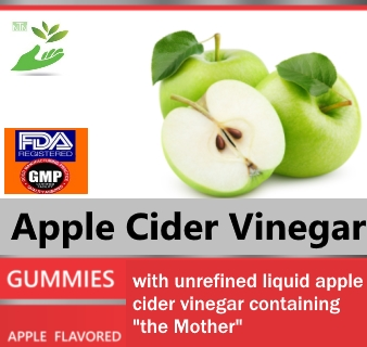 Private Label Apple Cider Vinegar Gummy Wholesale Supplement Distributor